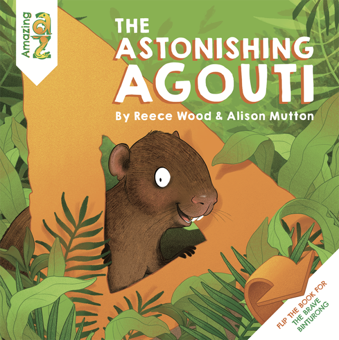 Cover for The Astonishing Agouti