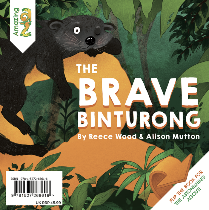 Cover for The Brave Binturong