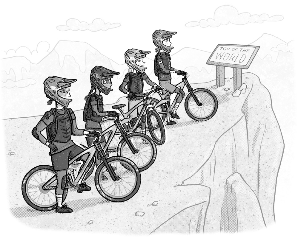 """Shred Girls: Ali's Rocky Ride,"" illustrated by Violet Lemay"