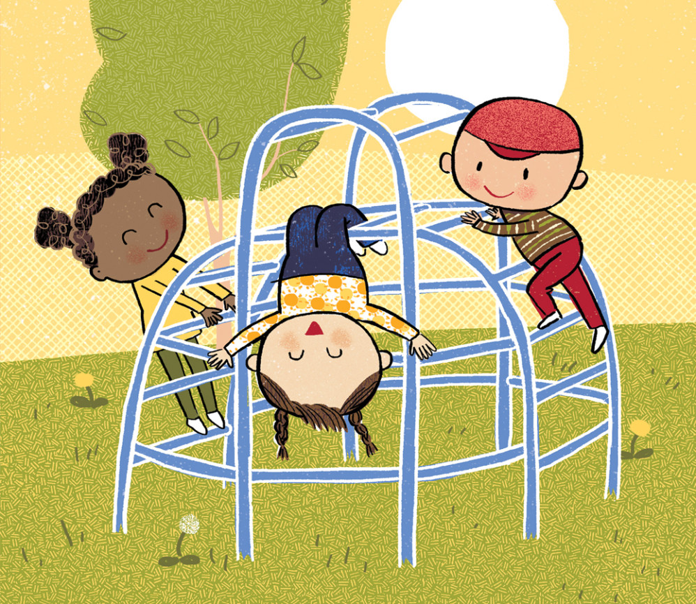 "Detail: Jungle Gym, from ""Healthy, Healthy. Love, Love, Love"""