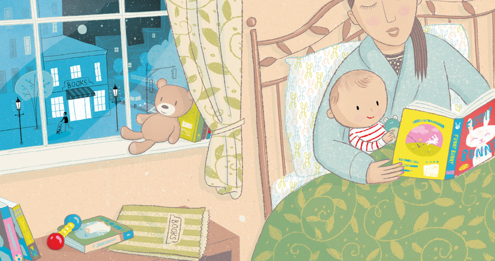 """Bookstore Babies,"" illustrated by Violet Lemay"