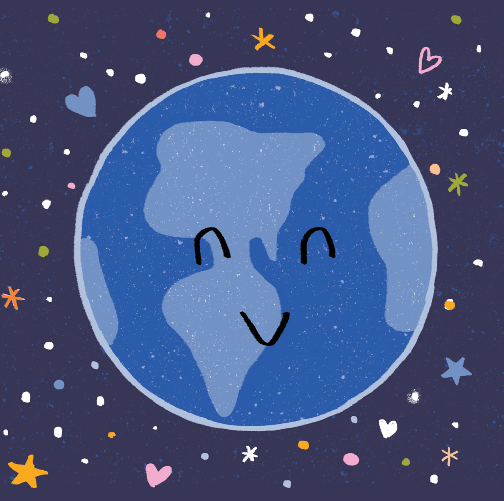 "Happy Earth, from ""Healthy, Healthy. Love, Love, Love"""