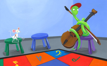 From: A Snake in Music Class