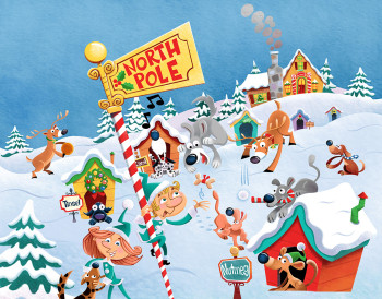 North Pole Dogs