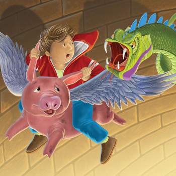 """The Flying Pig"""