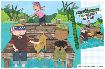 Duck Commander Devotional for Kids