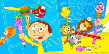 1-100 Counting Book - HeidiSongs Educational Curriculum