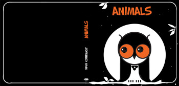 Animals Cover For High Contrast Book.