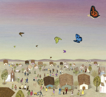 The arrival of the butterflies
