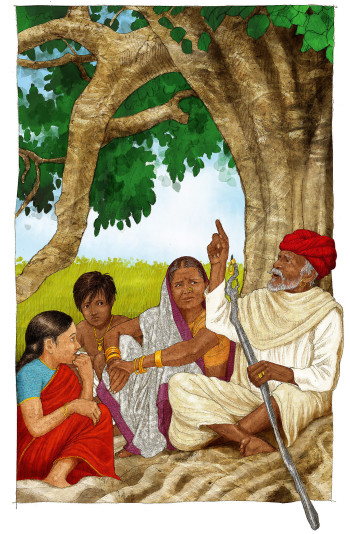 Wise Folk-Indian Story Teller
