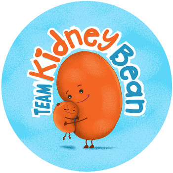 Logo design: Team Kidney Bean
