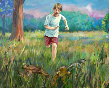 Chasing Frogs