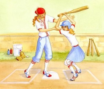 Scenes from The Baseball Princess