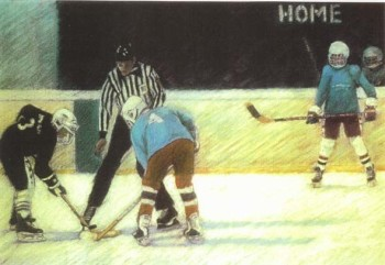 The Ice Hockey Face off