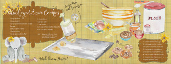 Illustrated Recipe for Children's Cookbook