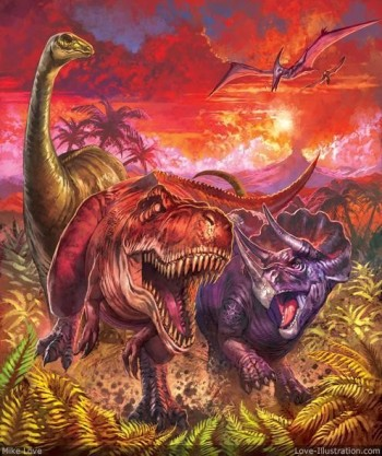 Dinosaur compilation cover