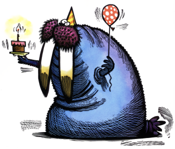 Walrus Birthday