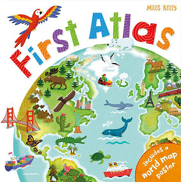 First Atlas  Miles Kelly, UK