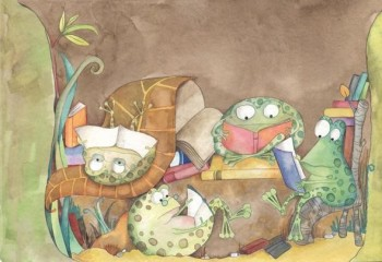 Readers frogs- Sapos lectores