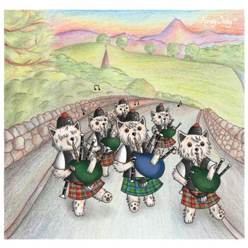 Arran Pipe Band - The Westie Fest