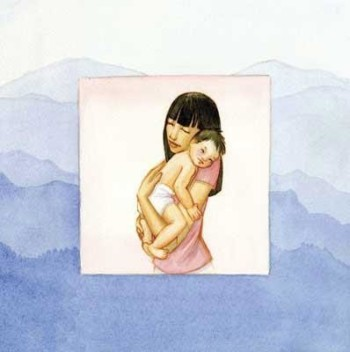 Illustrations from Breathing with Baby