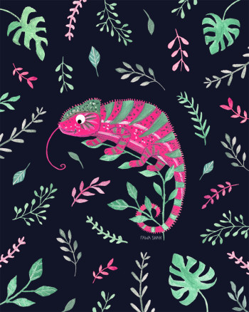 Pink Chameleon (Personal)
