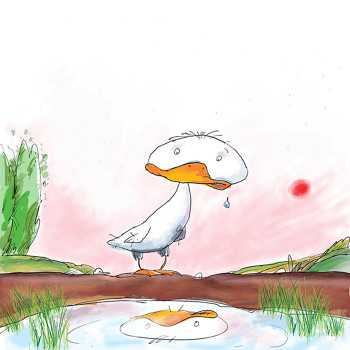 Cover The Ugly Duckling.