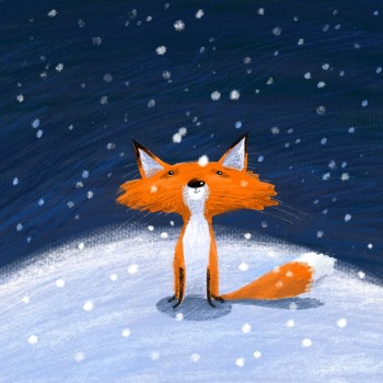 Foxy in the Snow