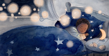 And by the light of the silvery moon... she slept