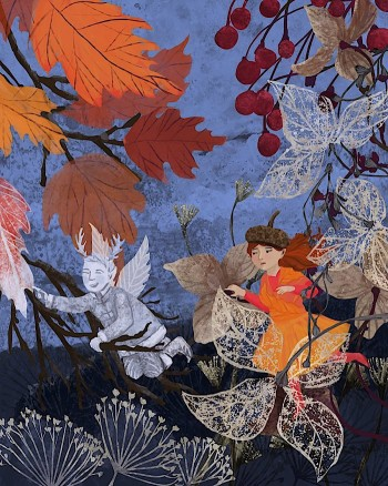Jack Frost and Autumn Picture Book Characters