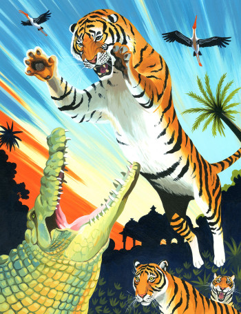 The Book of Animal Superheroes - Machali the Tiger