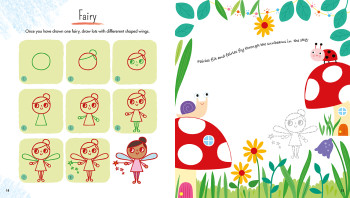 Draw with Simple Shapes - Fairy
