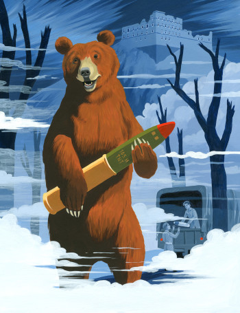 The Book of Animal Superheroes - Wojtek the Soldier Bear