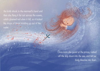 The little mermaid (double spread)