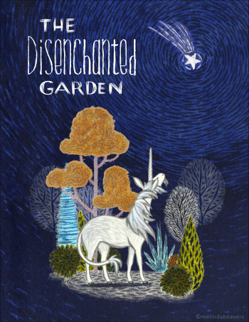 The Disenchanted Garden - Concept Book Cover