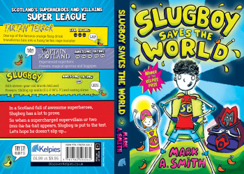 Slugboy Saves the World - cover illustration