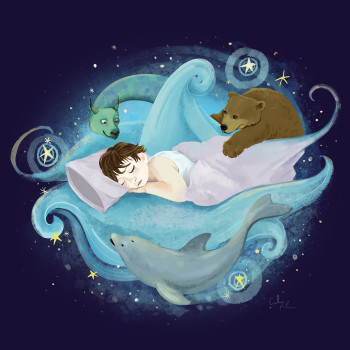 Whimsical Dreams of a Child