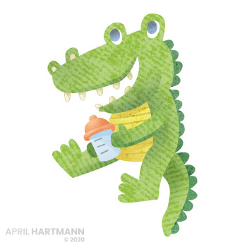 Croc for Hyland's packaging