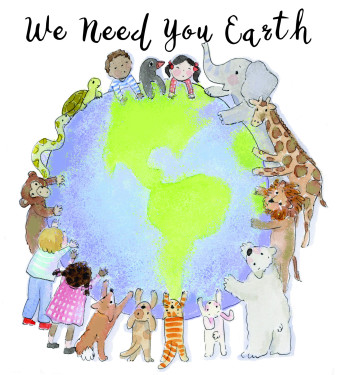 We Need You Earth Poster
