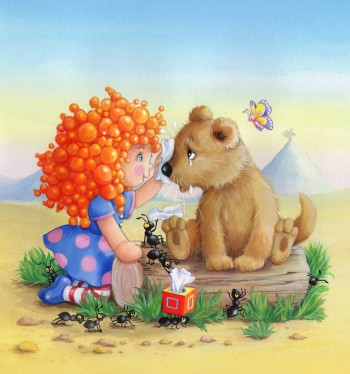 Susy Bubbles and The Lost Lion cub