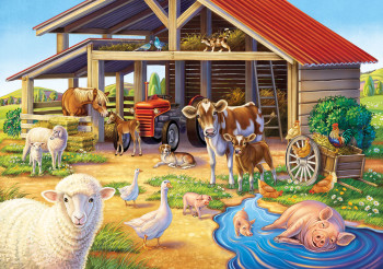Puzzle: Animals on a Farm