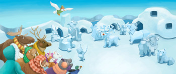 Ice Animals
