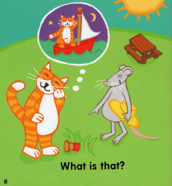 The Cat and The Rat Educational Book