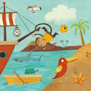 A Pirate's Life - magnetic playset