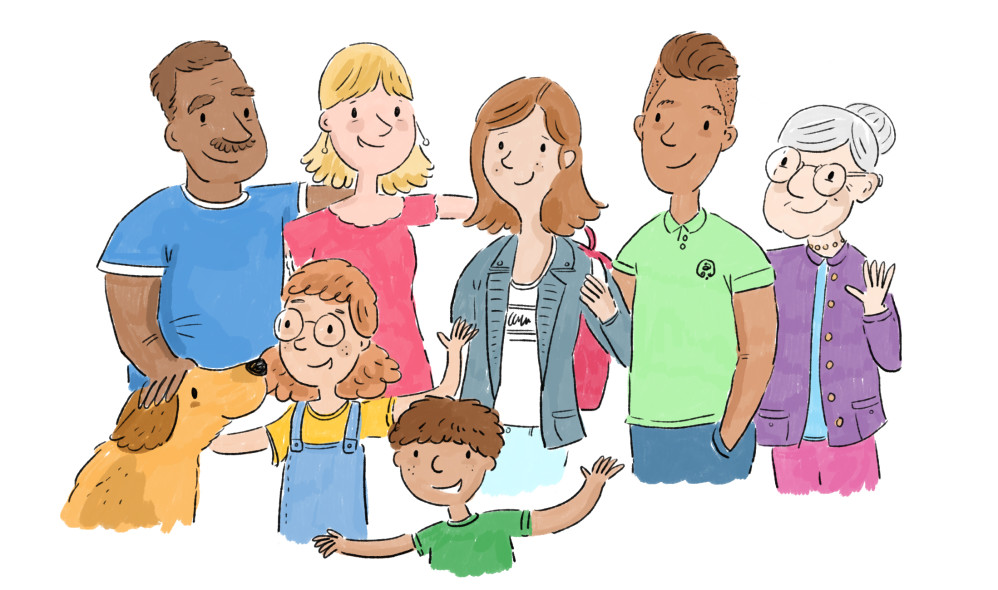 Family Portrait - for educational materials