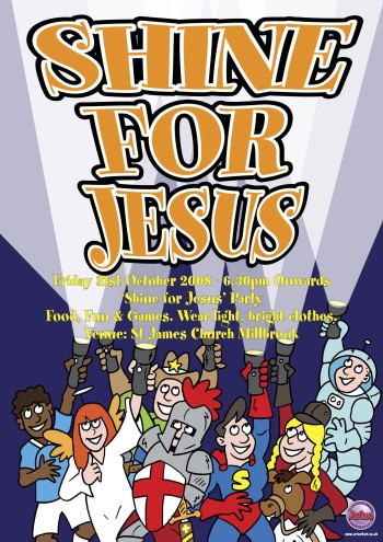 Shine for Jesus poster