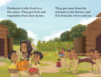Pocahontas and her brothers
