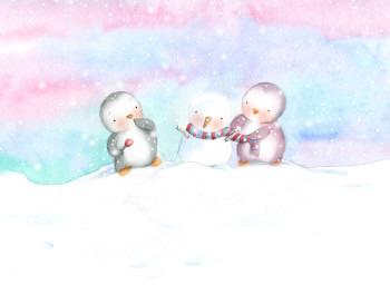 Snow Penguins