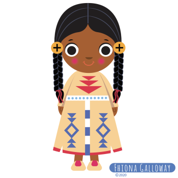 Native Indian girl