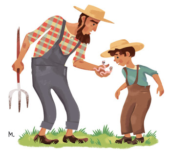 Farmer and Son